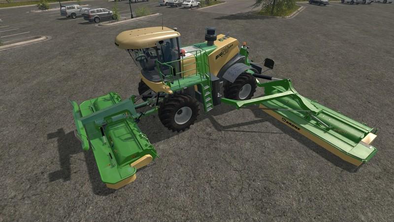 Мод Krone BiG M v 1.2 Farming Simulator 17