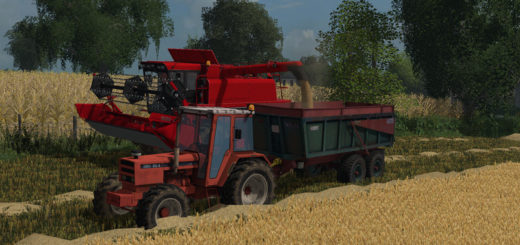 Мод прицеп Trailer Lyonnet Turbo 12 v 1.0 Farming Simulator 17