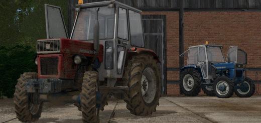 Мод трактор Universal UTB-445 DTC v 1.0 Farming Simulator 2017