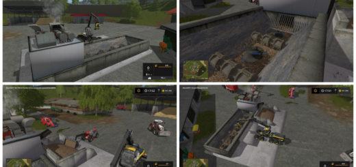 Мод щеподробилка Woodcutter TD3 V 1.0.1.0 Farming Simulator 17