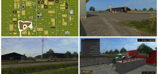 Мод карта Zuidwest Friesland Map v 1.0.0.2 Farming Simulator 2017