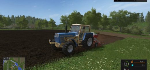 Мод трактор Zetor Crystal 12045 v 1.1 Farming Simulator 17