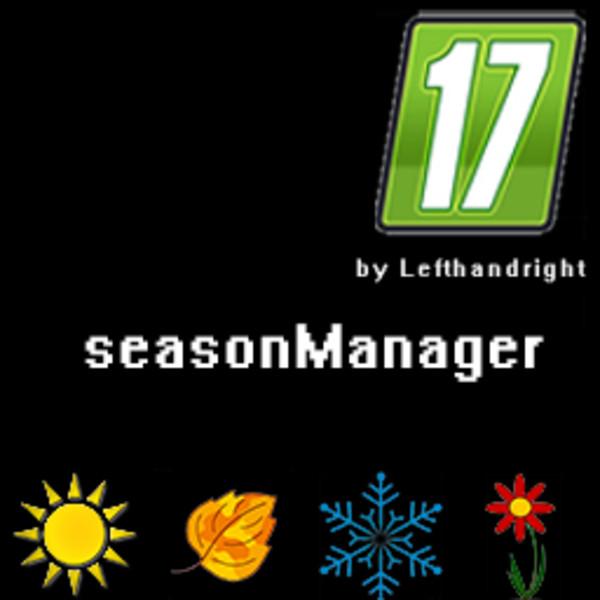 Мод скрипт SeasonManager V 0.1 Farming Simulator 17