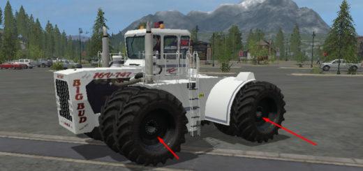Мод трактор Big Bud 747 v 1.1 Farming Simulator 2017