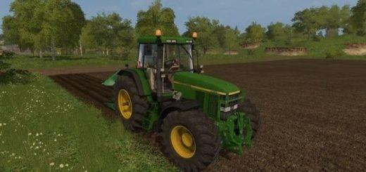 Мод трактор John Deere 7810 v 2.0 Farming Simulator 2017