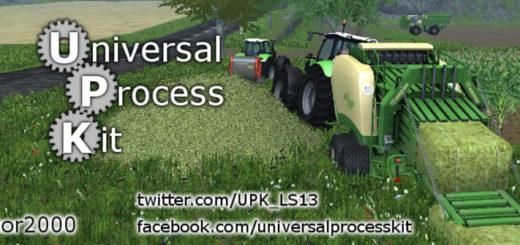 Мод Universal Process Kit v 17.0.9 Farming Simulator 2017