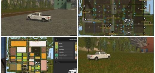 Мод карта Canadian Ultimate v 1.0 Farming Simulator 2017