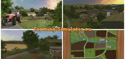 Мод карта Chellington 17 v2.0 Farming Simulator 2017
