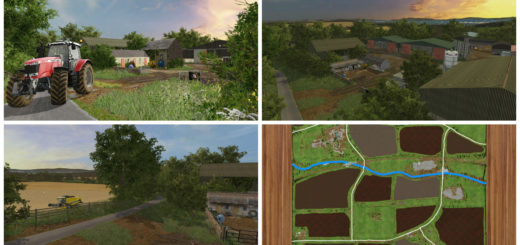 Мод карта Chellington 17 v1.0.0.3 Farming Simulator 17