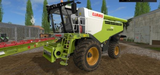 Мод комбайн Claas Lexion 780 FULL WASHABLE Farming Simulator 2017