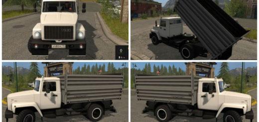 Мод грузовик ГАЗ 3309 v 1.0 Фермер Симулятор 2017