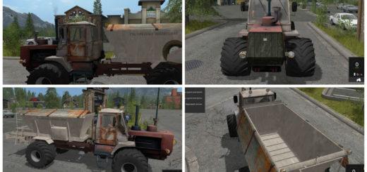 Мод трактор Т-150 опрыскиватель Фермер Симулятор 2017
