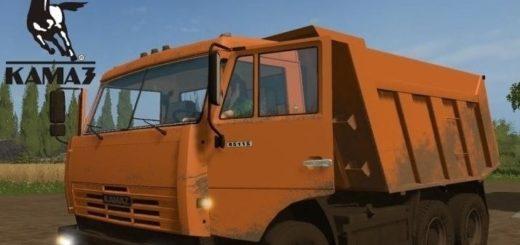 Мод грузовик Камаз 65115 v 1.0 Фарминг Симулятор 2017