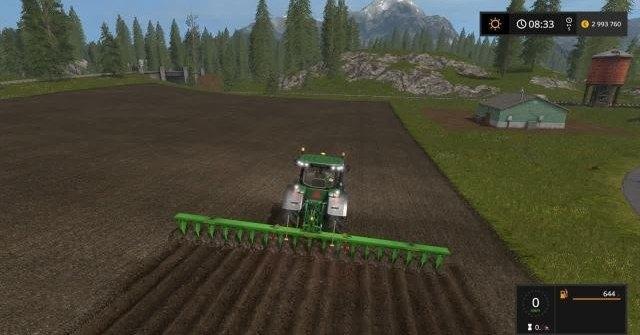 скачать мод плуг для farming simulator 2017