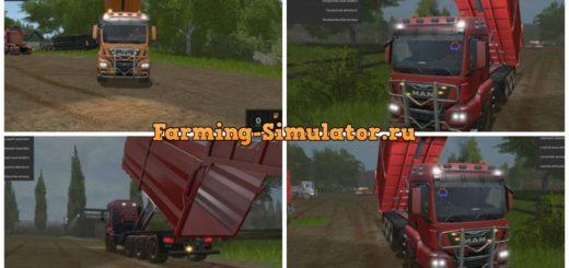 Мод MAN TGS HKL v 2.0 Farming Simulator 17