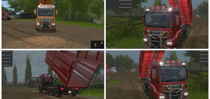 Мод MAN TGS HKL v 1.0 Farming Simulator 2017