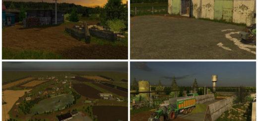 Мод карта TYOMATY v 1.0 Farming Simulator 2017