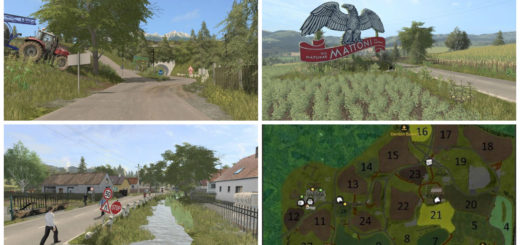 Мод карта MPMAP V4 Beta Farming Simulator 2017