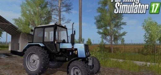 Мод трактор МТЗ 1025 v 1.0 Фермер Симулятор 2017