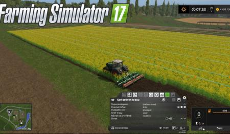 Мод курсплей Courseplay 5.01.00023 Beta Farming Simulator 17
