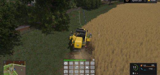 Мод скрипт Автокомбайн AI Vehicle Extension v 0.2.0.5 Farming Simulator 17