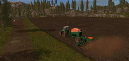 Мод сеялка Amazone EDX 6000 TC v 1.0.0.3 Farming Simulator 17