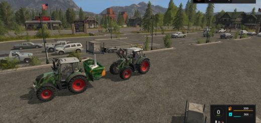 Мод Amazone ZA-M 1501 v 1.0 Farming Simulator 17