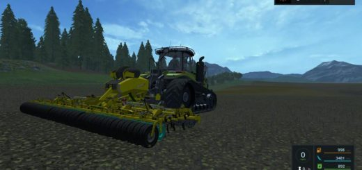 Мод культиватор Bednar DSC 6800 v 1.0 Farming Simulator 2017