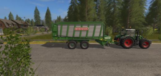 Мод прицеп Bergmann Carex 38S v 1.0 Farming Simulator 2017