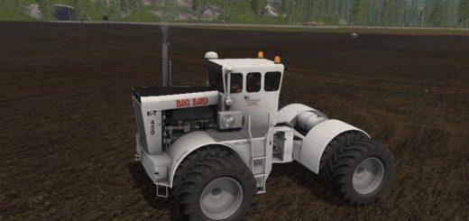 Мод трактор Big Bud K-T450 v 1.0 Farming Simulator 17