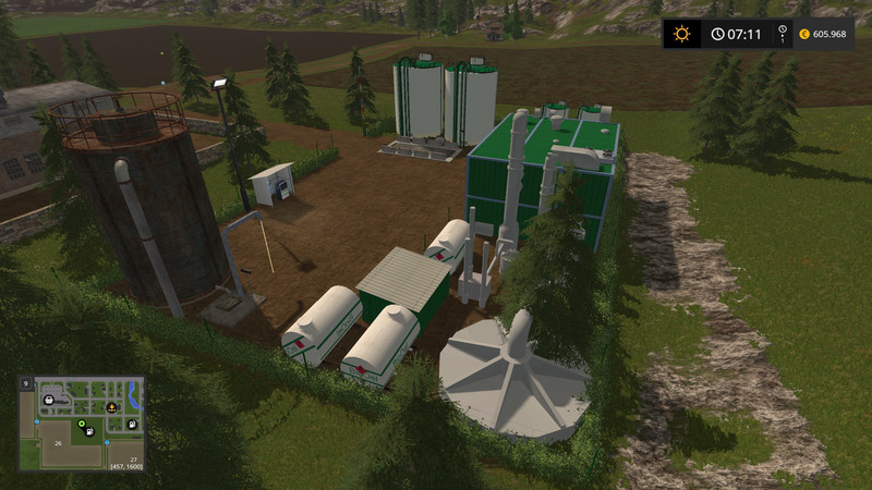 Мод BIO-Diesel Refinery Placeable v 2.0.0.0 Farming Simulator 2017