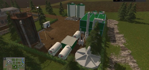 Мод BIO-Diesel Refinery Placeable v 1.0.1.1 Farming Simulator 17