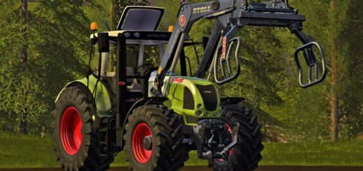 Мод трактор Claas Arion 600 (610 / 620 / 630) v 1.0 Farming Simulator 17