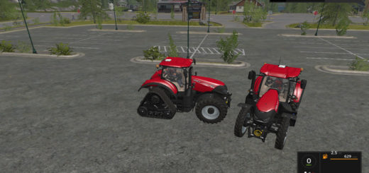 Мод трактор Case IH Optum CVX v 1.3 Farming Simulator 2017