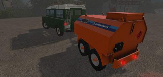 Мод бочка Chieftain Fuel Bowser v1.0 Farming Simulator 2017