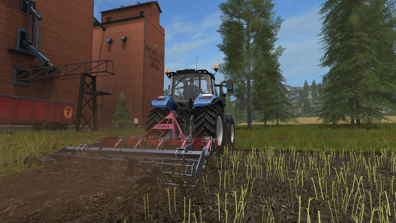 Мод культиватор Chisel Vila SXH211 v 1.0 Farming Simulator 2017