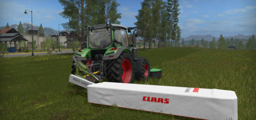 Мод газонокосилка Claas Disco 3450 Plus Farming Simulator 17