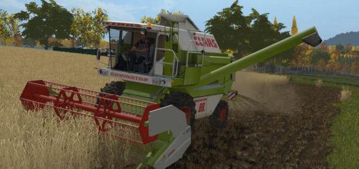 Мод комбайн Claas Dominator 88s V1.0.0.1 Farming Simulator 17