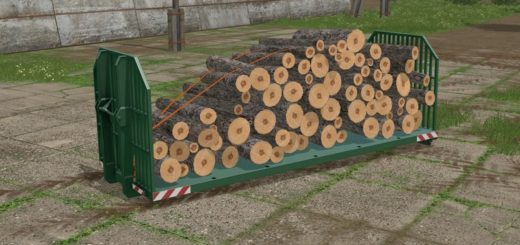 Мод Container Wood It Runner Autoload v 1.0 Farming Simulator 17