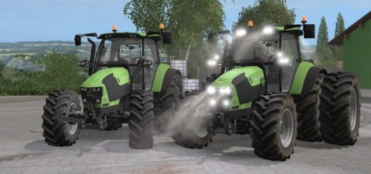 Мод трактор DEUTZ FAHR 5110 TTV V1.0 Farming Simulator 17