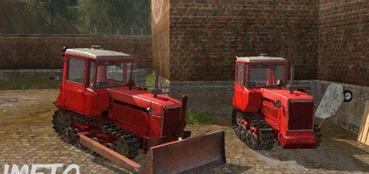 Мод трактор ДТ 75М и отвал v 1.3 Фарминг Симулятор 2017