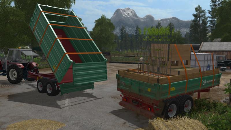 Мод прицеп Farmtech TDK 900 v 1.0.1 Farming Simulator 17