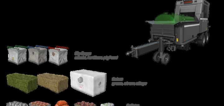 Мод Fliegl Pallet Filling System v 1.0.0.5 Farming Simulator 17