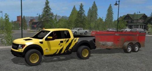 Мод авто Ford F150 Raptor v 1.0 Farming Simulator 2017