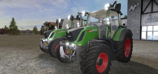 Мод трактор Fendt 500 Vario V 1.0 Farming Simulator 2017