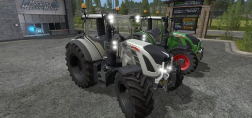 Мод трактора Fendt 700 Vario Pack v1.0 Farming Simulator 17
