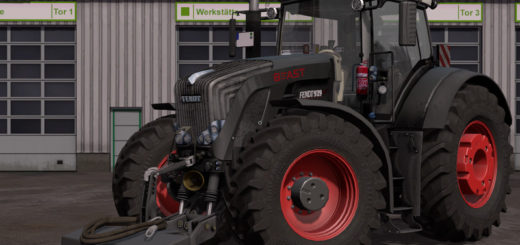 Мод трактор Fendt 900 Vario Black Beauty v 1.1.1.1 Farming Simulator 17