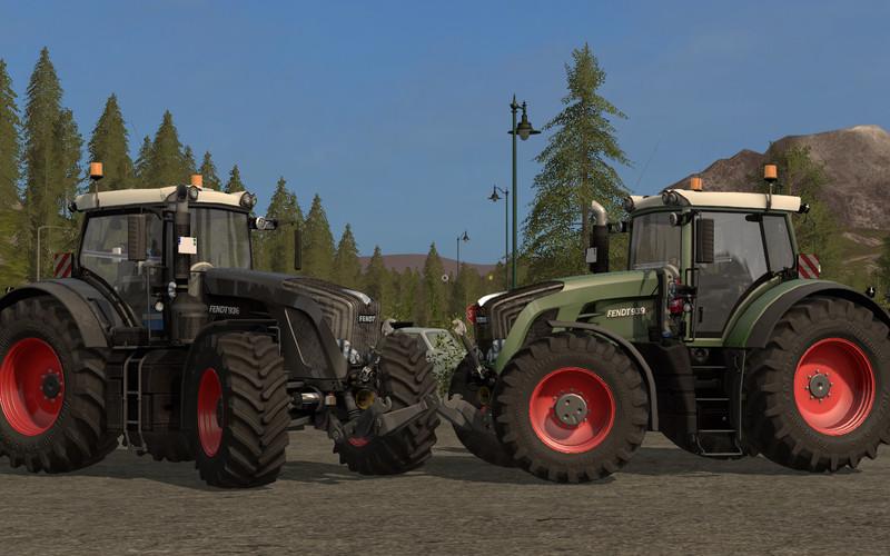 Мод трактор Fendt 900 Vario v 1.1.1.1 Farming Simulator 17