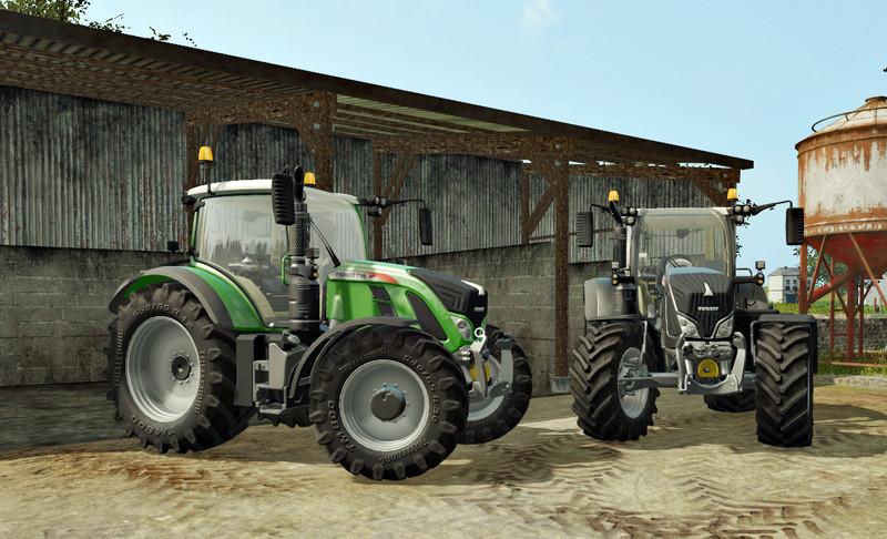 Мод трактор Fendt Vario 700 v 1.0.0 Farming Simulator 17