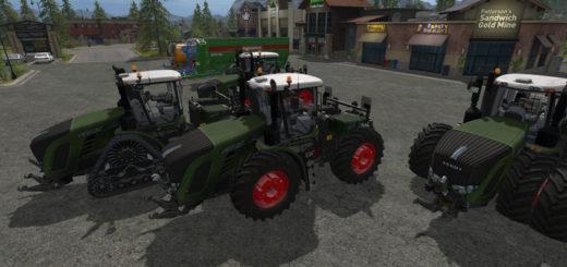 Мод трактор Fendt Vario T v1.0 Farming Simulator 2017